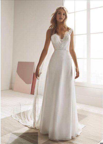 Robe de mariée | Robe Droite | Empire du